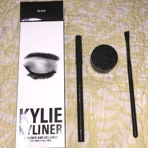 Other - Kylie Eyeliner Kit Black Eyeliner&Gel with brush.
